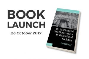 Perils of Judicial Self-Government in Transitional Societies - Book Launch by David Kosar @ Sala del Consiglio | Florence | Tuscany | Italy