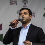 Celebration of HDP suppoorters after general election