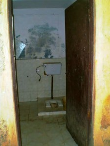 A separate toilet  for maids in a housing society in Delhi (Photo: Author)