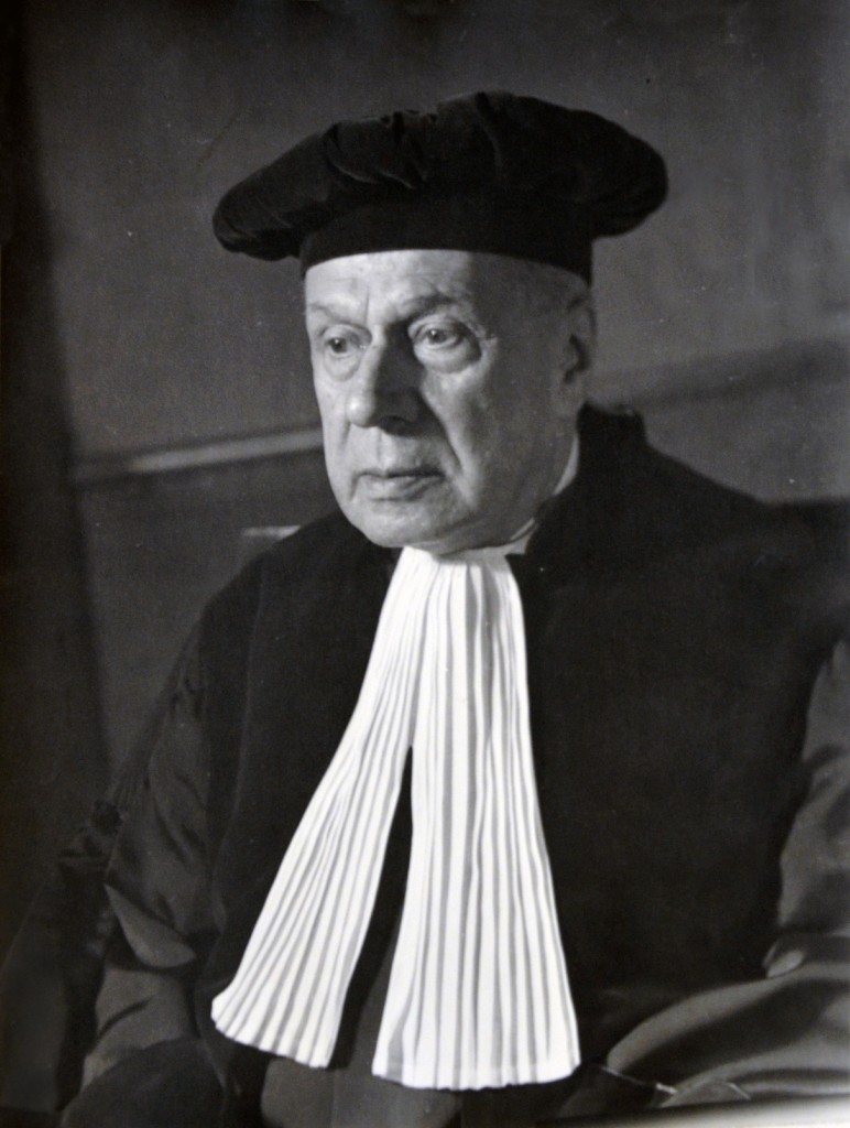 Photograph of Massimo Pilotti, President of the Court of Justice of the ECSC 1952-1958, © Atelier Sandau, Bonn (undated)