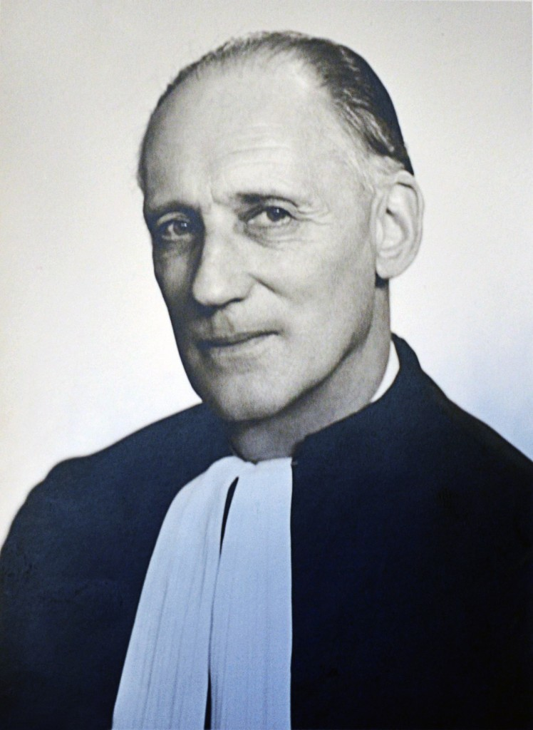 Photograph of Maurice Lagrange, Advocate General at the Court of Justice of the ECSC then EC, 1958-1964, © Edouard Kutter et Fils, Court photographers (undated)