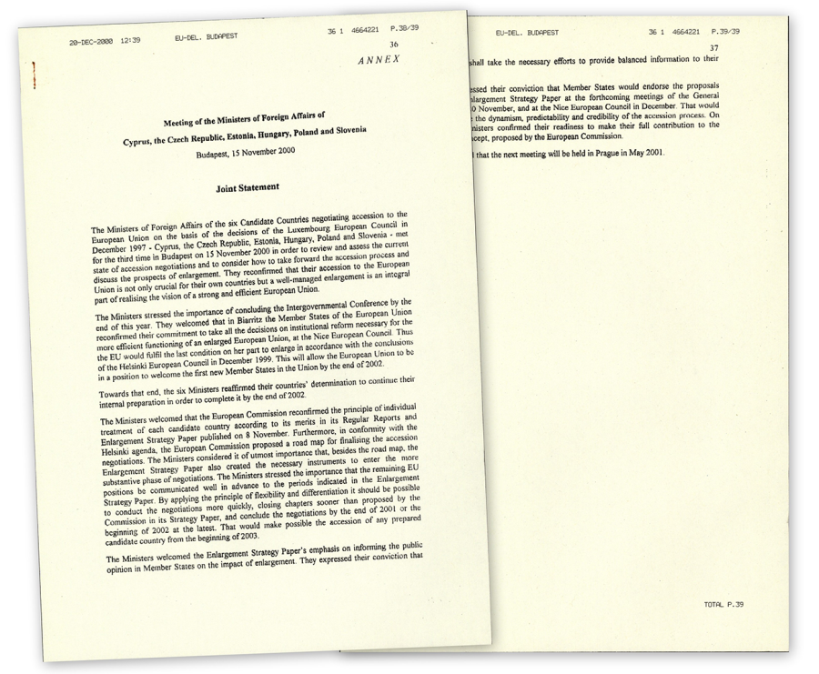 Text of speech of Commission President Santer to the European Parliament regarding EU's relations with Central and Eastern Europe, 2nd March 1995 (HAEU, GJLA 187)
