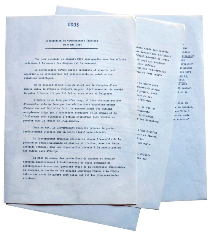 Text of the Schuman Declaration