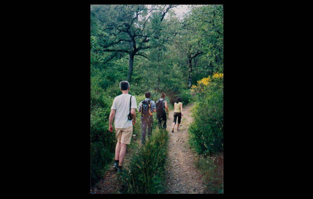 EUI Alumni hiking through the nearby Chianti region on 18 June 2006 (Unknown author / HAEU, EUI 316)