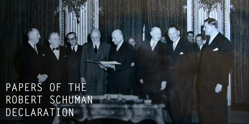 Papers of the Robert Schuman Declaration