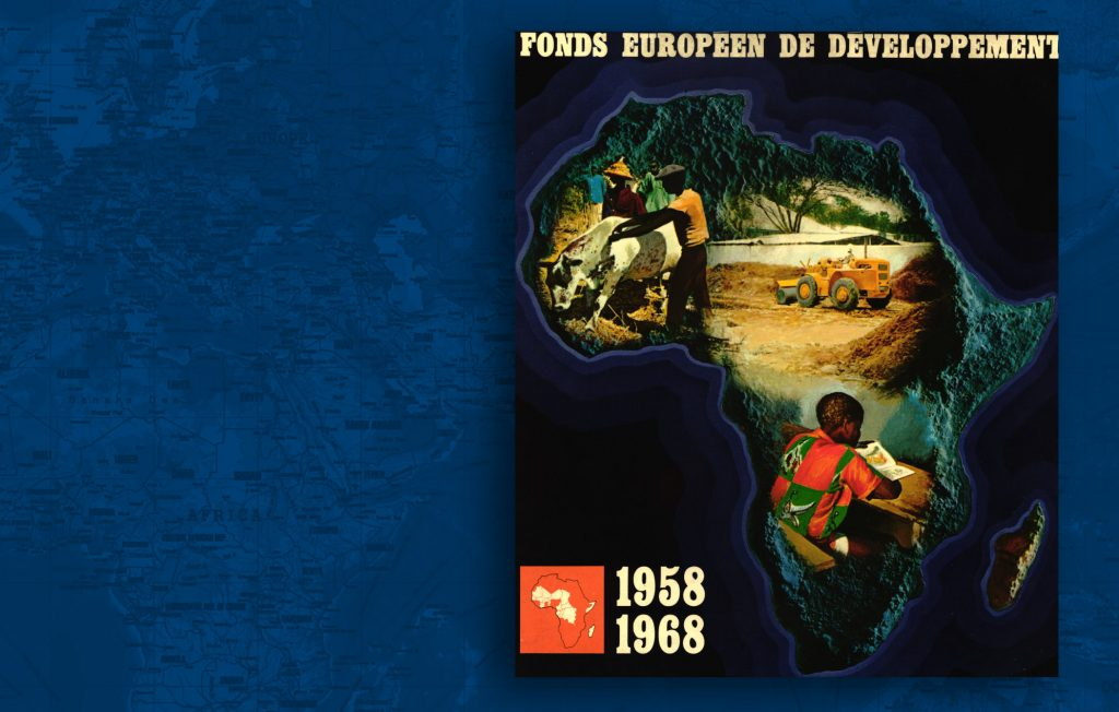 Brochure published by the European Commission to mark the tenth anniversary of the creation of the European Development Fund, main instrument for providing development aid (HAEU)