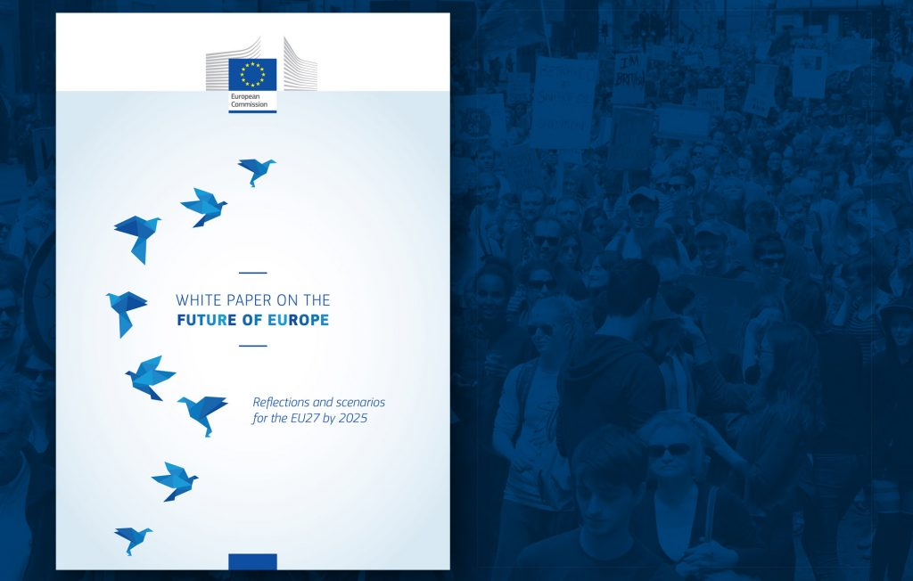 White Paper on the future of Europe adopted by the European Commission on 1 March 2017