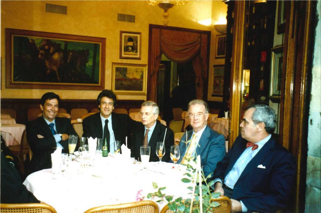Picture of the President of Portugal, Jorge Sampaio, in Florence October 2002 (HAEU, EUI 313)