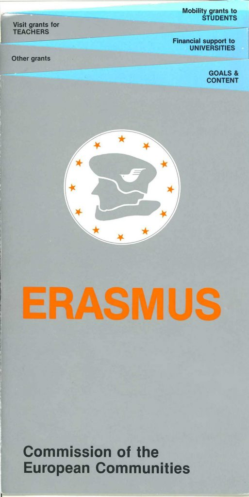 Information leaflet on the Erasmus programme (HAEU, PSP 330).