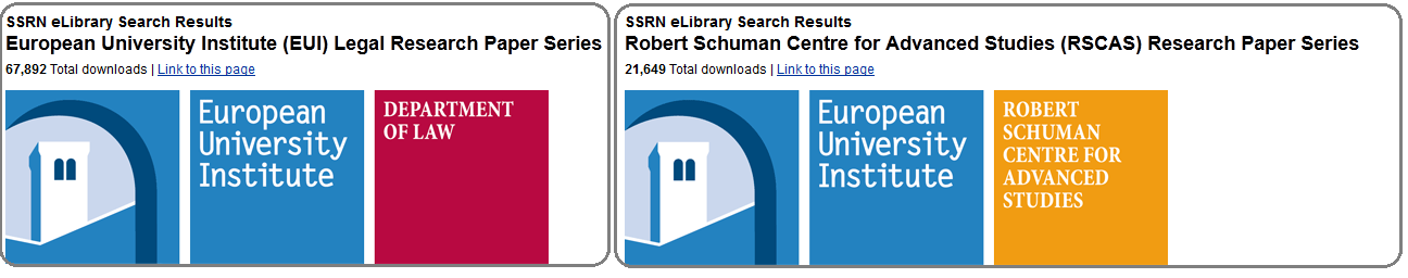 Ulms research working papers series