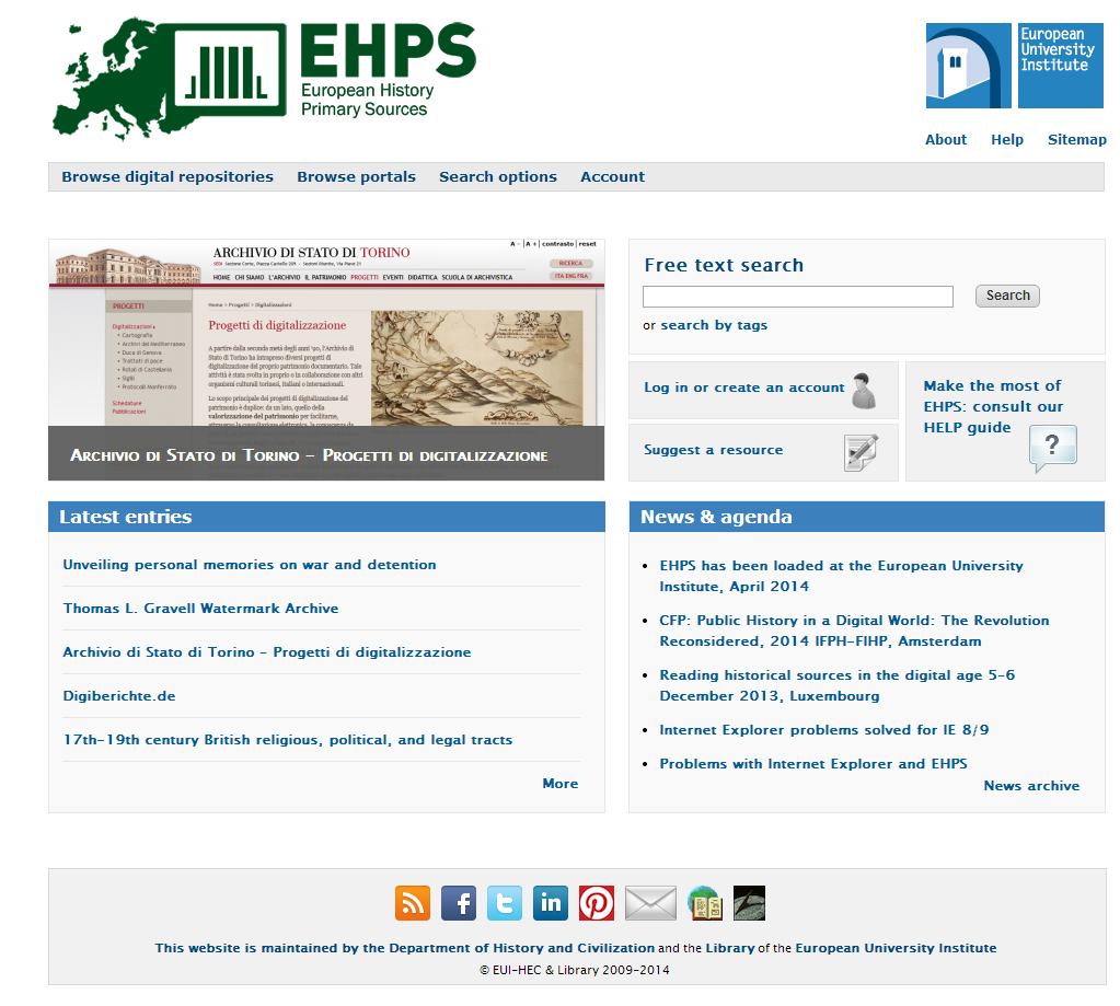 European History Primary Sources