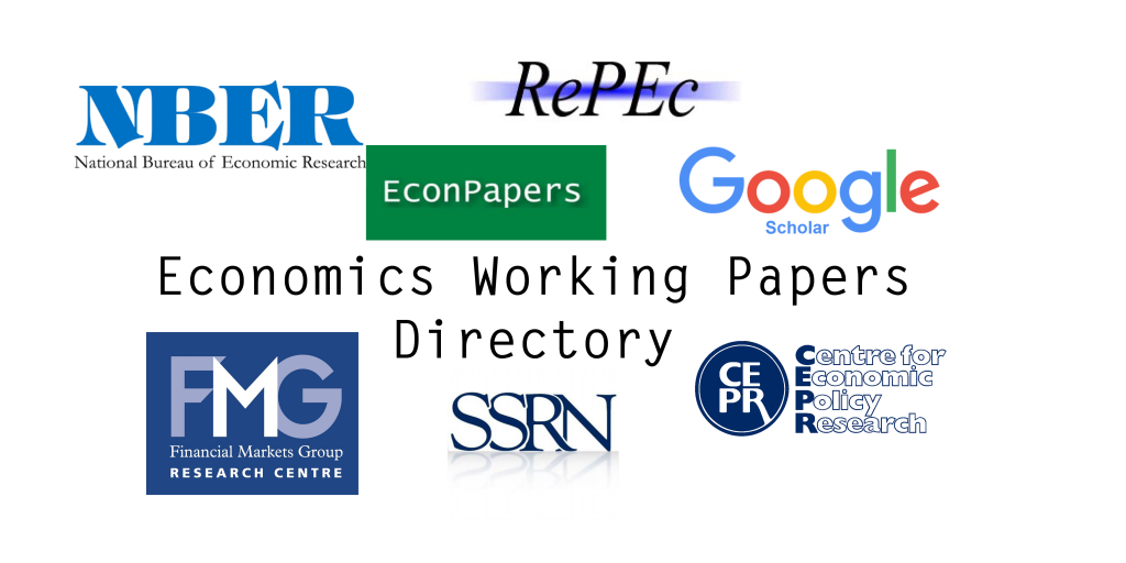research papers of economics