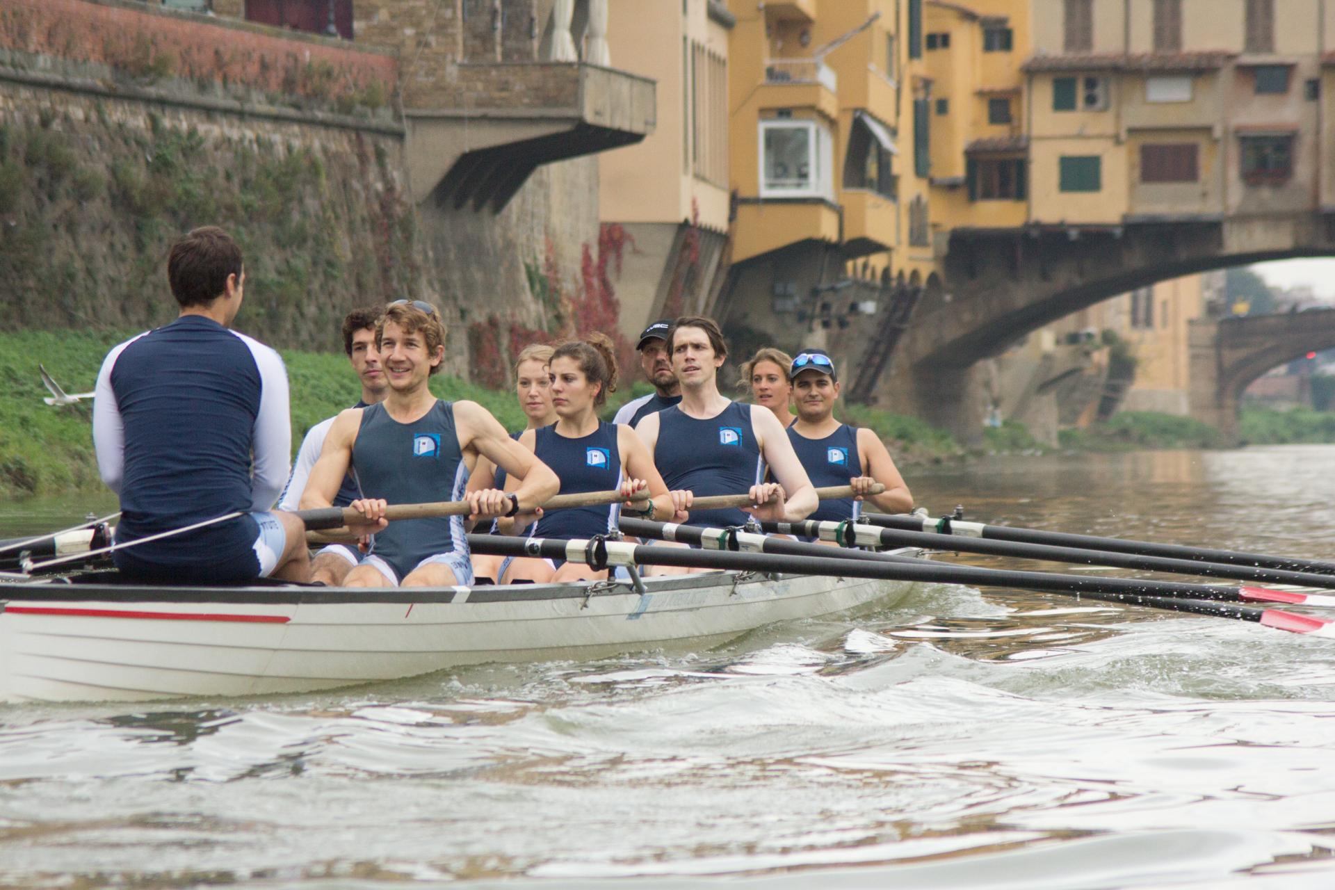 EUI rowing team